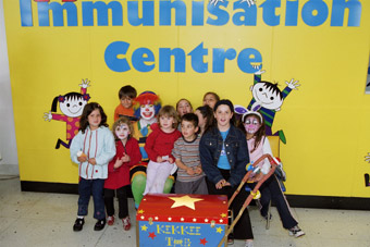 Immunisation Centre at the Royal Children's Hospital